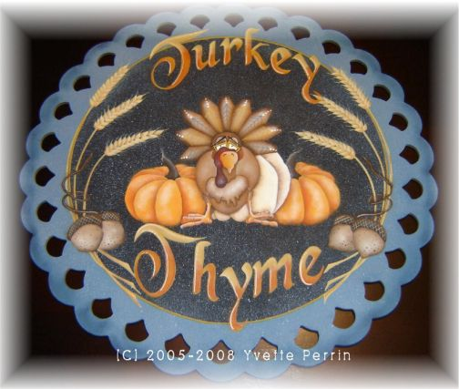 Turkey Thyme e-Pattern DOWNLOAD