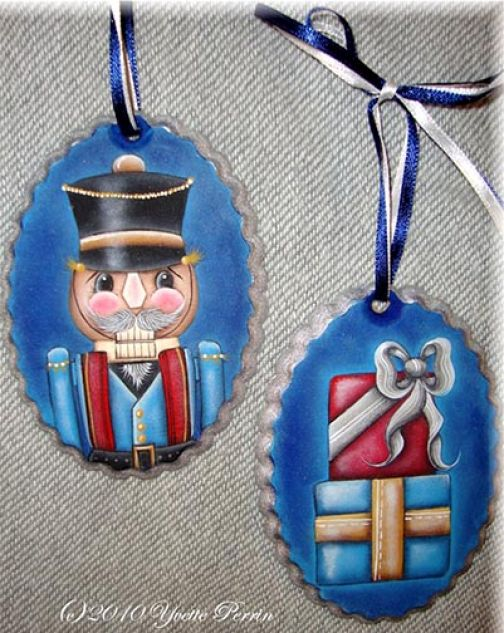 Nutcracker Ornaments e-Pattern DOWNLOAD