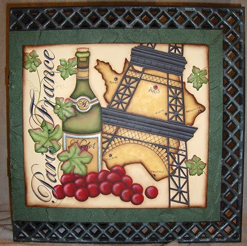Memories of Paris e-Pattern DOWNLOAD