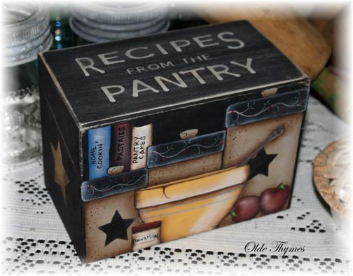 Recipes from the Pantry Pattern BY DOWNLOAD