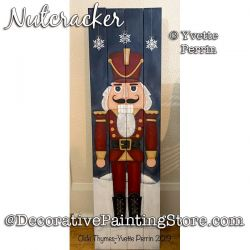 Nutcracker Painting Pattern PDF DOWNLOAD - Yvette Perrin
