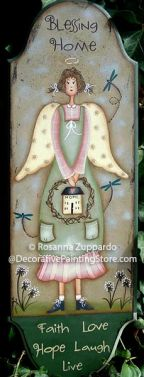 Angel Blessing Home Pattern - Rosanna Zuppardo - PDF DOWNLOAD