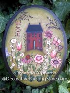 Little Red House on the Hill Pattern - Rosanna Zuppardo - PDF DOWNLOAD