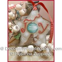 Christmas Joy Star Pattern - Rosanna Zuppardo - PDF DOWNLOAD