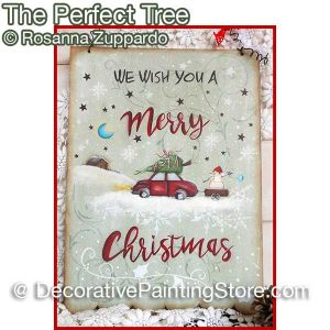The Perfect Tree ePattern - Rosanna Zuppardo - PDF DOWNLOAD