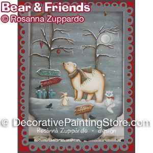Bear and Friends ePattern - Rosanna Zuppardo - PDF DOWNLOAD