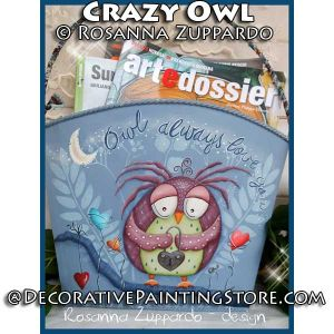 Owl Always Love You ePattern - Rosanna Zuppardo - PDF DOWNLOAD