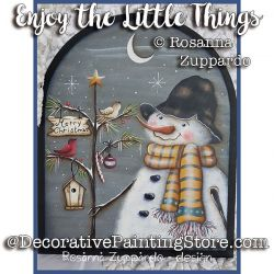 Enjoy the Little Things ePattern - Rosanna Zuppardo - PDF DOWNLOAD