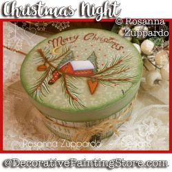 Christmas Night ePattern - Rosanna Zuppardo - PDF DOWNLOAD