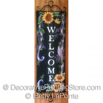 Sunflower Welcome ePacket - Betty LaPointe - PDF DOWNLOAD