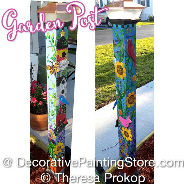 Garden Post by Theresa Prokop
