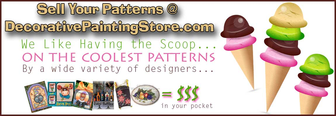 Sell Your Designs at DecorativePaintingStore.com